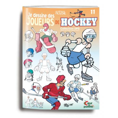 Je dessine des joueurs de Hockey - La méthode Prouche