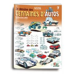 """Couverture du livre """"Je dessine des centaines d'autos"""""""