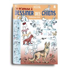 """Couverture du livre """"Je m'amuse à dessiner des chiens"""""""