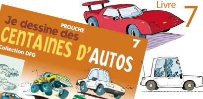 Je dessine des centaines d'autos
