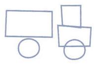 Croquis d'un camion