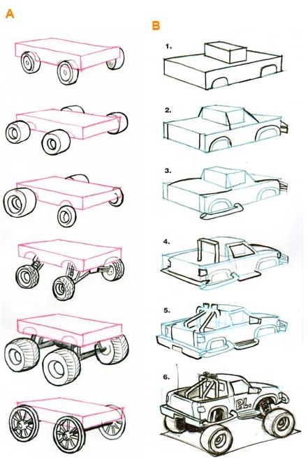 Je dessine des centaines d autos - Dessiner voiture de course ...