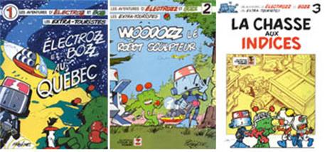 Albums 1 à 3 de Électrozz et Bozz