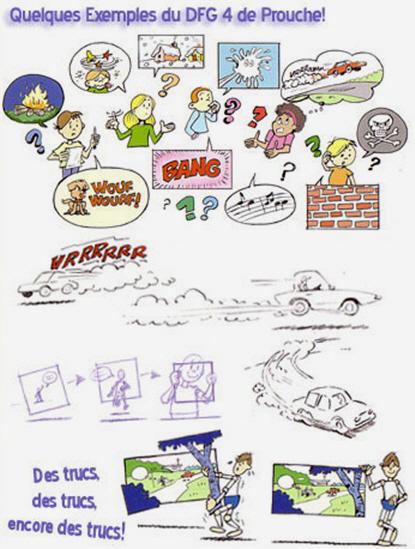 Quelques exemples de dessins du livre 4