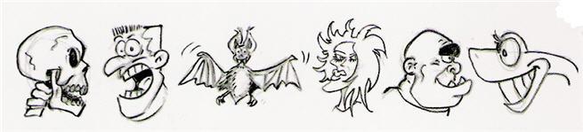 Exemples de monstres