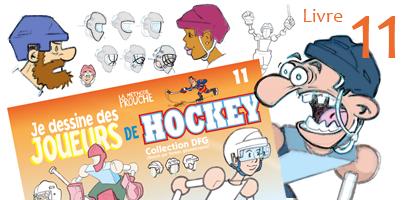 Je dessine un joueur de hockey