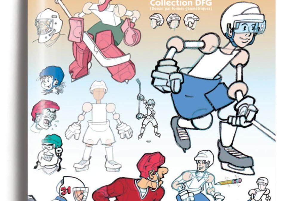 Je dessine des joueurs de hockey