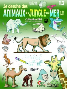 Je dessine des animaux de la jungle de la mer et plus encore